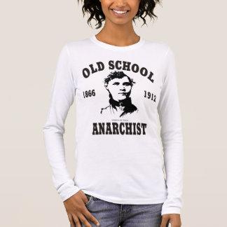 Old School -- Voltairine de Cleyre Long Sleeve T-Shirt