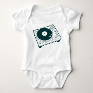 Old School Wax / Turntable Baby Bodysuit