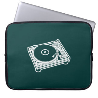 Old School Wax / Turntable Laptop Sleeve