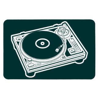 Old School Wax / Turntable Magnet