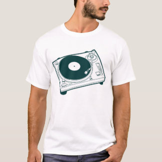 Old School Wax / Turntable T-Shirt
