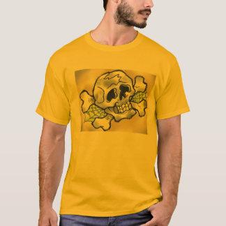 OLD-SCHOOL WHISKEY SKULL T-Shirt