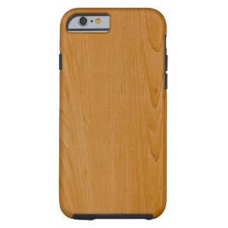 Old School Wood Paneling Tough iPhone 6 Case
