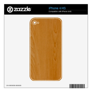 Old School Wood Paneling Decal For The iPhone 4