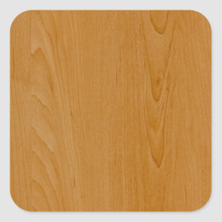 Old School Wood Paneling Square Sticker