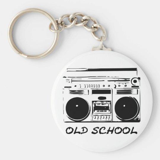 old School zazzle Keychain