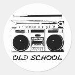 Old-School-zazzle Sticker