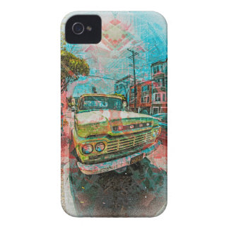 Old schooler Truck off the Mission San Francisco Case-Mate iPhone 4 Cases