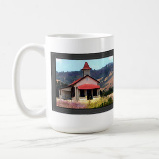 Old Schoolhouse Near San Simeon Coffee Mug