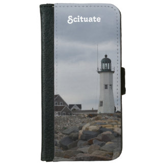 Old Scituate Lighthouse Wallet Phone Case For iPhone 6/6s
