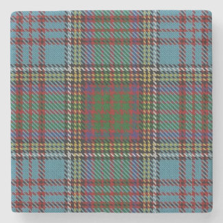 Old Scots Tavern Clan Anderson Tartan Stone Coaster