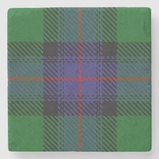 Old Scots Tavern Clan Armstrong Tartan Stone Coaster