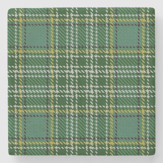 Old Scots Tavern Clan Currie Tartan Stone Coaster