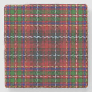 Old Scots Tavern Clan Innes Tartan Stone Coaster