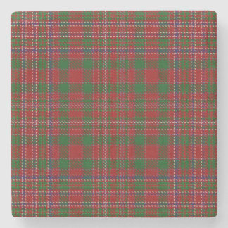 Old Scots Tavern Clan MacAlister Tartan Stone Coaster