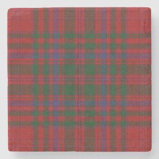 Old Scots Tavern Clan MacDougall Tartan Stone Coaster