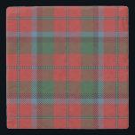 "Old Scots Tavern Clan MacNachtan Tartan Stone Coaster<br><div class=""desc"">Handsome clan tartan design on this amazing coaster.</div>"