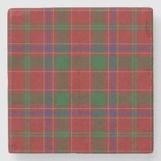 Old Scots Tavern Clan Munro Tartan Stone Coaster