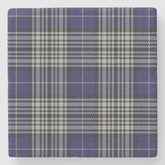 Old Scots Tavern Clan Napier Tartan Stone Coaster