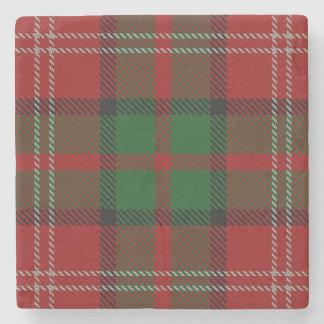 Old Scots Tavern Clan Nisbet Tartan Stone Coaster