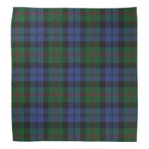 Old Scotsman Clan Baird Tartan Plaid Bandana