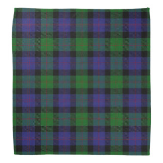 Old Scotsman Clan Blair Tartan Plaid Bandana