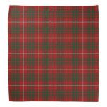 Old Scotsman Clan Bruce Tartan Plaid Bandana
