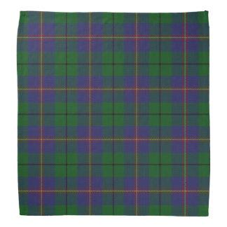 Old Scotsman Clan Carmichael Tartan Plaid Bandana