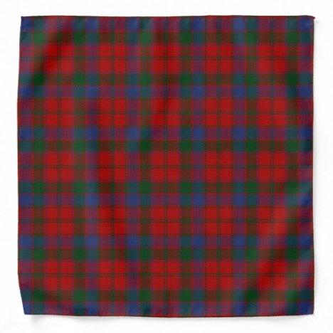 Old Scotsman Clan Donnachaidh Robertson Tartan Bandana
