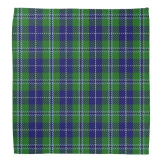 Old Scotsman Clan Douglas Tartan Plaid Bandana
