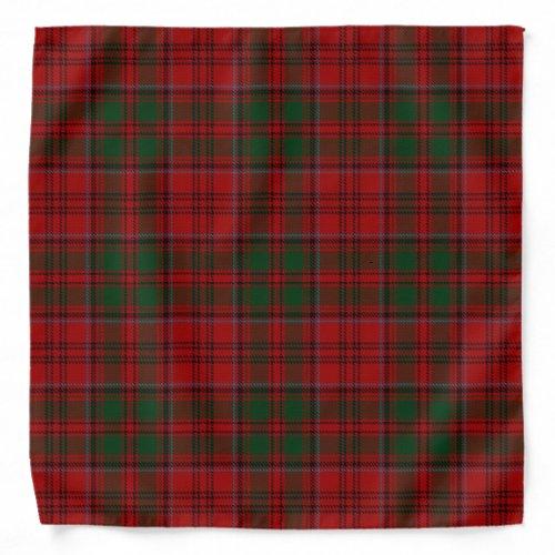 Old Scotsman Clan Grant Tartan Plaid Bandana