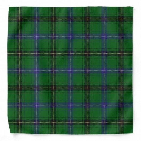 Old Scotsman Clan Henderson Tartan Plaid Bandana