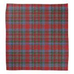 Old Scotsman Clan MacBean MacBain Tartan Plaid Bandana