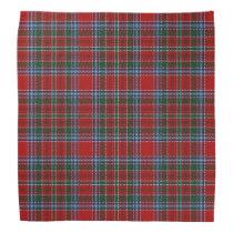 Old Scotsman Clan MacBean MacBain Tartan Plaid Bandana