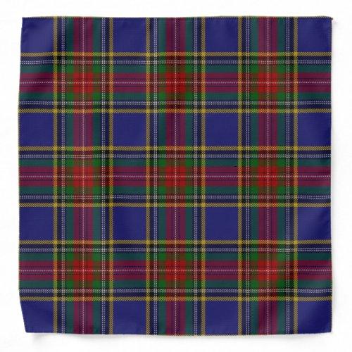 Old Scotsman Clan MacBeth Tartan Plaid Bandana