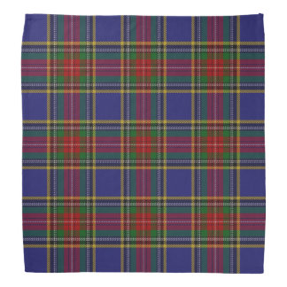 Old Scotsman Clan MacBeth Tartan Plaid Bandana