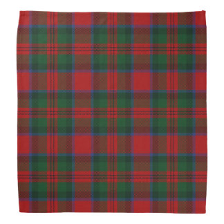 Old Scotsman Clan MacDuff Tartan Plaid Bandana