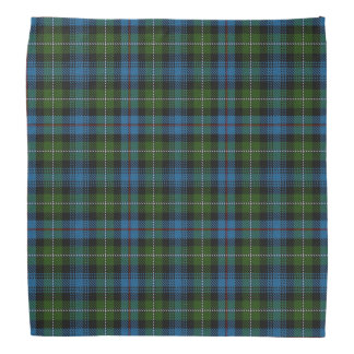 Old Scotsman Clan MacKenzie Tartan Plaid Bandana