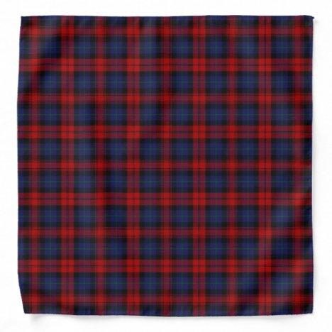 Old Scotsman Clan MacLachlan Tartan Plaid Bandana