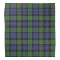 Old Scotsman Clan Murray Tartan Plaid Bandana