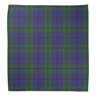 Old Scotsman Clan Strachan Tartan Plaid Bandana