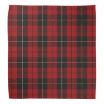 Old Scotsman Clan Wallace Tartan Plaid Bandana