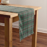 Old Scottish Clan Craig Tartan Plaid Short Table Runner
