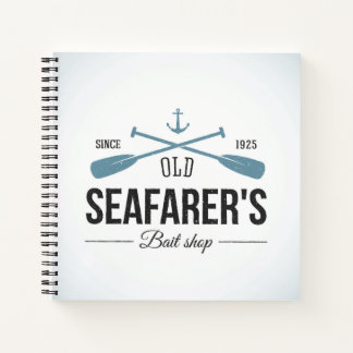 Old Seafarers Bait Shop Notebook