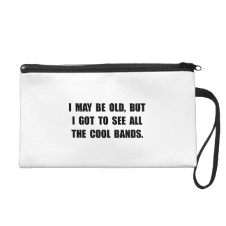 Old See Cool Bands Wristlet