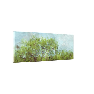 Old Shade Tree (Digital Painting from Photography) Canvas Print