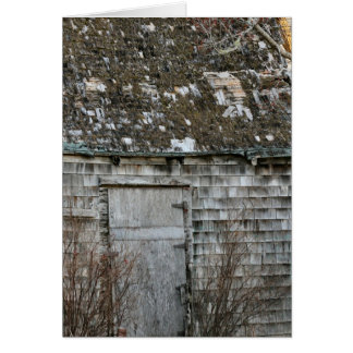 Old Shed Card