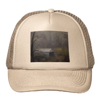 Old Shed in the Woods Trucker Hat