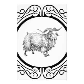 old sheep display stationery