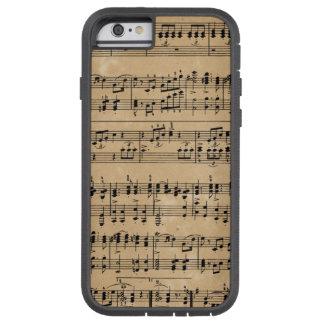 Old sheet music tough xtreme iPhone 6 case